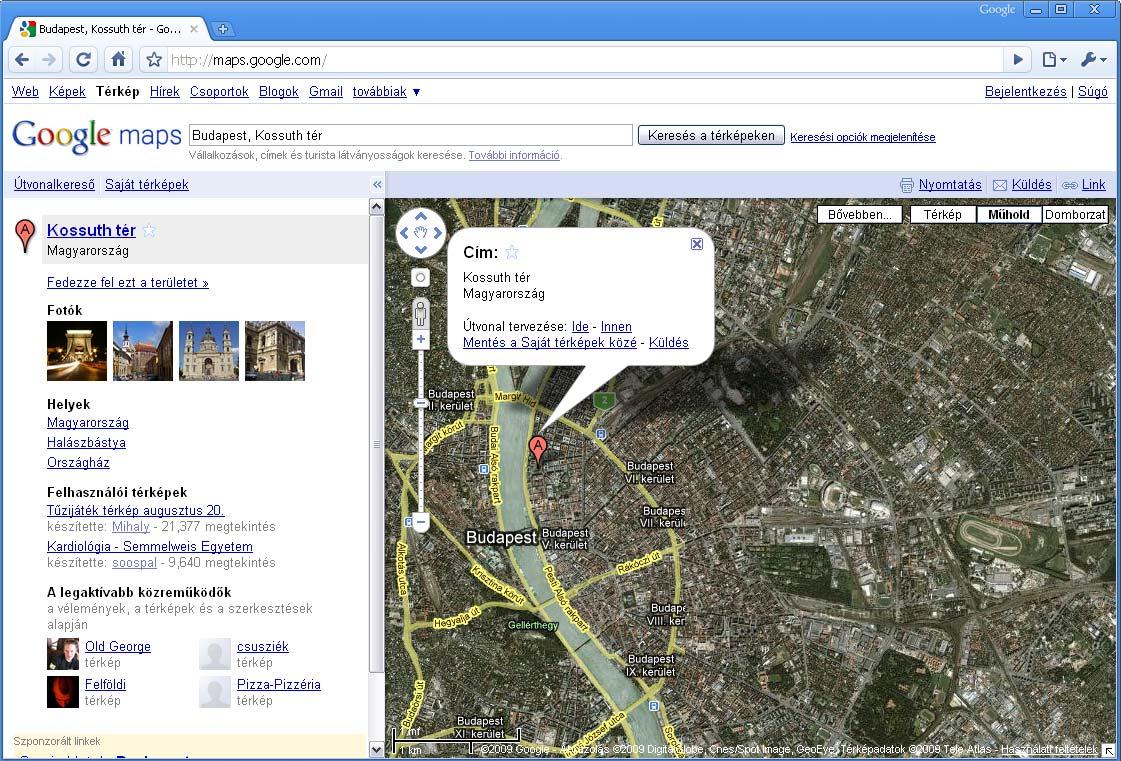 Google Maps Hasznalata Sajat Terkepek Letrehozasa Mentese Netpedia